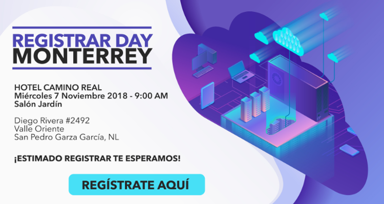 Registry MX Registrar Day Monterrey